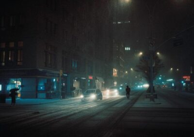 Photographer captures New York neo-noir Stories hiding in plain sight
